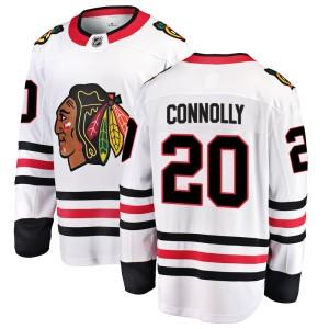 Men's Chicago Blackhawks Brett Connolly Fanatics Branded Breakaway Away Jersey - White