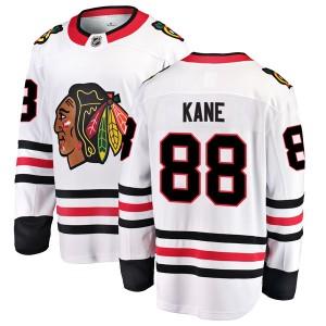 Men's Chicago Blackhawks Patrick Kane Fanatics Branded Breakaway Away Jersey - White