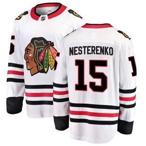 Men's Chicago Blackhawks Eric Nesterenko Fanatics Branded Breakaway Away Jersey - White