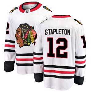 Men's Chicago Blackhawks Pat Stapleton Fanatics Branded Breakaway Away Jersey - White