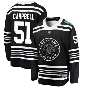 Men's Chicago Blackhawks Brian Campbell Fanatics Branded 2019 Winter Classic Breakaway Jersey - Black