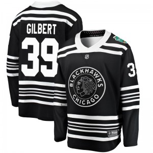 Men's Chicago Blackhawks Dennis Gilbert Fanatics Branded 2019 Winter Classic Breakaway Jersey - Black