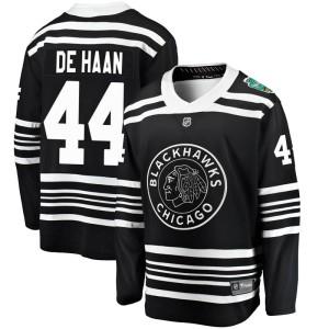 Men's Chicago Blackhawks Calvin de Haan Fanatics Branded 2019 Winter Classic Breakaway Jersey - Black