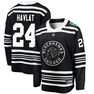 Men's Chicago Blackhawks Martin Havlat Fanatics Branded 2019 Winter Classic Breakaway Jersey - Black