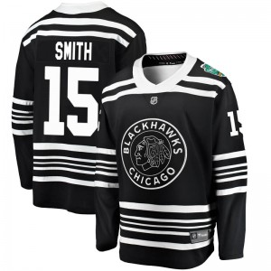Men's Chicago Blackhawks Zack Smith Fanatics Branded 2019 Winter Classic Breakaway Jersey - Black