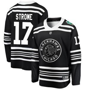 Men's Chicago Blackhawks Dylan Strome Fanatics Branded 2019 Winter Classic Breakaway Jersey - Black