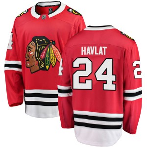 Youth Chicago Blackhawks Martin Havlat Fanatics Branded Breakaway Home Jersey - Red