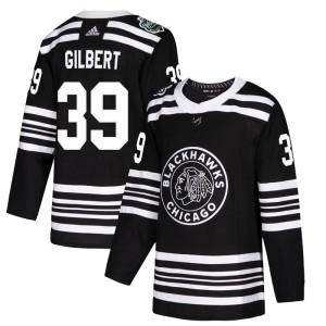 Men's Chicago Blackhawks Dennis Gilbert Adidas Authentic 2019 Winter Classic Jersey - Black