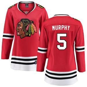 Women's Chicago Blackhawks Connor Murphy Fanatics Branded Home Breakaway Jersey - Red
