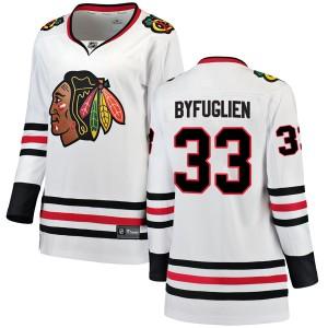 Women's Chicago Blackhawks Dustin Byfuglien Fanatics Branded Breakaway Away Jersey - White
