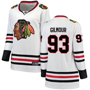 Women's Chicago Blackhawks Doug Gilmour Fanatics Branded Breakaway Away Jersey - White