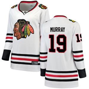 Women's Chicago Blackhawks Troy Murray Fanatics Branded Breakaway Away Jersey - White