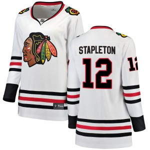 Women's Chicago Blackhawks Pat Stapleton Fanatics Branded Breakaway Away Jersey - White