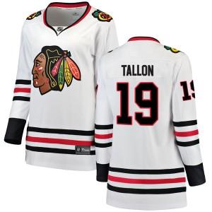 Women's Chicago Blackhawks Dale Tallon Fanatics Branded Breakaway Away Jersey - White