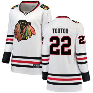 Women's Chicago Blackhawks Jordin Tootoo Fanatics Branded Breakaway Away Jersey - White