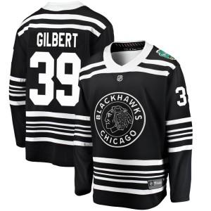 Youth Chicago Blackhawks Dennis Gilbert Fanatics Branded 2019 Winter Classic Breakaway Jersey - Black