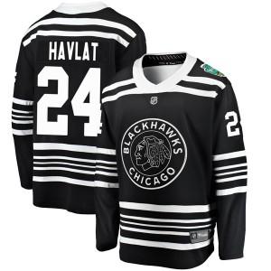 Youth Chicago Blackhawks Martin Havlat Fanatics Branded 2019 Winter Classic Breakaway Jersey - Black