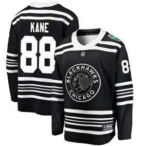 Youth Chicago Blackhawks Patrick Kane Fanatics Branded 2019 Winter Classic Breakaway Jersey - Black