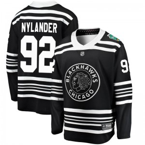 Youth Chicago Blackhawks Alexander Nylander Fanatics Branded 2019 Winter Classic Breakaway Jersey - Black