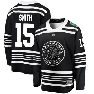 Youth Chicago Blackhawks Zack Smith Fanatics Branded 2019 Winter Classic Breakaway Jersey - Black