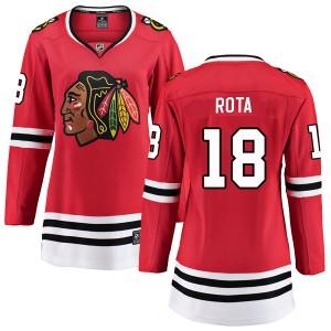 Women's Chicago Blackhawks Darcy Rota Fanatics Branded Breakaway Home Jersey - Red
