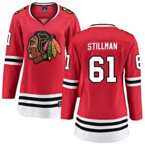 Women's Chicago Blackhawks Riley Stillman Fanatics Branded Breakaway Home Jersey - Red