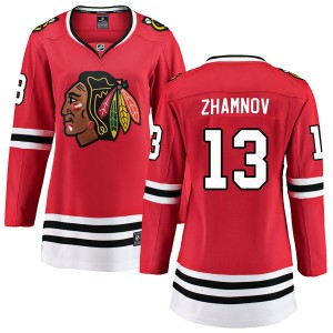 Women's Chicago Blackhawks Alex Zhamnov Fanatics Branded Breakaway Home Jersey - Red