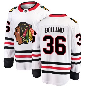 Youth Chicago Blackhawks Dave Bolland Fanatics Branded Breakaway Away Jersey - White