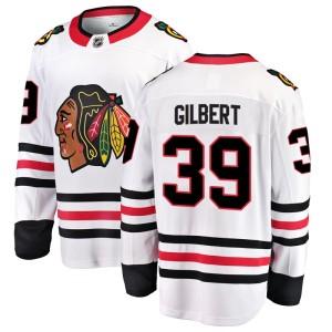 Youth Chicago Blackhawks Dennis Gilbert Fanatics Branded Breakaway Away Jersey - White