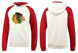 Men's Chicago Blackhawks Big & Tall Logo Pullover Hoodie - /Red - White