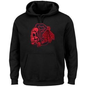 Men's Chicago Blackhawks Hoodie - Black