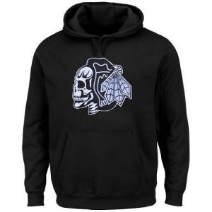 Men's Chicago Blackhawks Hoodie - - Black