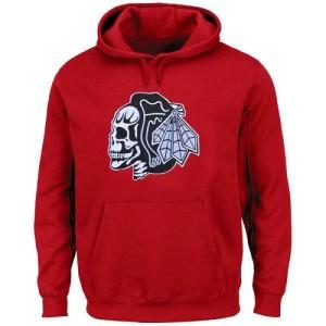 Men's Chicago Blackhawks Hoodie - - Red