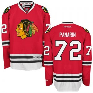 Men's Chicago Blackhawks Artemi Panarin Reebok Authentic Home Jersey - Red