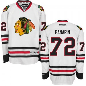 Men's Chicago Blackhawks Artemi Panarin Reebok Authentic Away Jersey - White
