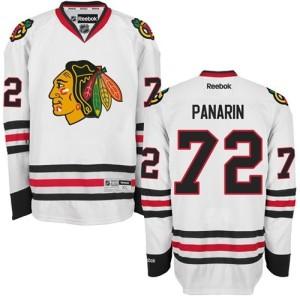 Youth Chicago Blackhawks Artemi Panarin Reebok Authentic Away Jersey - White