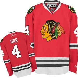 Men's Chicago Blackhawks Bobby Orr Reebok Authentic Home Jersey - Red