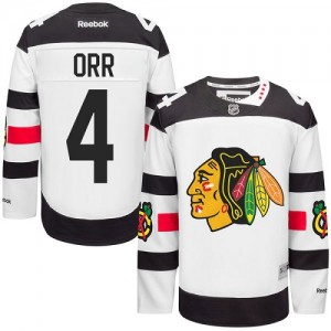 Men's Chicago Blackhawks Bobby Orr Reebok Authentic 2016 Stadium Series Jersey - White
