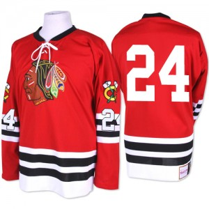 Men's Chicago Blackhawks Martin Havlat Mitchell and Ness Authentic 1960-61 Throwback Jersey - Red