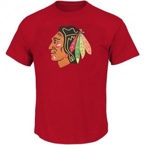 Men's Chicago Blackhawks T-Shirts - - Red