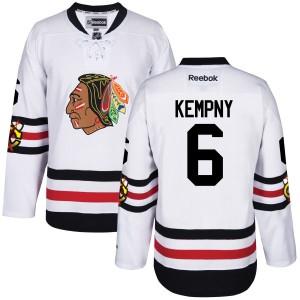 Men's Chicago Blackhawks Michal Kempny Reebok Premier 2017 Winter Classic Jersey -