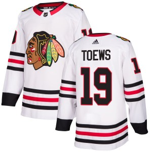 Men's Chicago Blackhawks Jonathan Toews Adidas Authentic Jersey - White