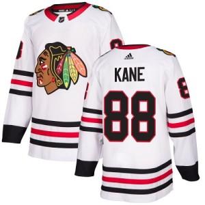 Youth Chicago Blackhawks Patrick Kane Adidas Authentic Away Jersey - White