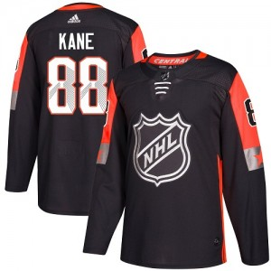 Men's Chicago Blackhawks Patrick Kane Adidas Authentic 2018 All-Star Central Division Jersey - Black